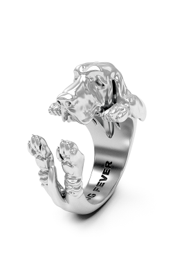 Dog Fever Hug Fashion ring BASSET HOUND product image