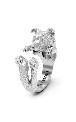 Dog Fever Hug Fashion ring BORDER COLLIE product image
