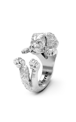 Dog Fever Hug Fashion Ring CAVALIER KING product image