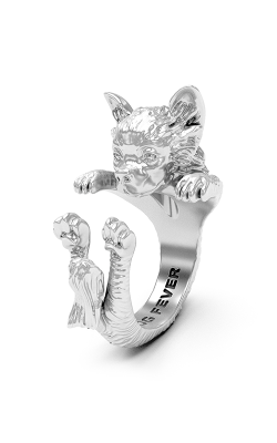 Dog Fever Hug Fashion ring CHIHUAHUA LONG HAIRED product image