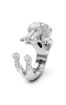 Dog Fever Hug Fashion ring DACHSHUND TECKEL product image