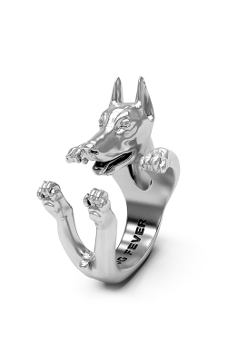 Dog Fever Hug Fashion ring DOBERMANN product image
