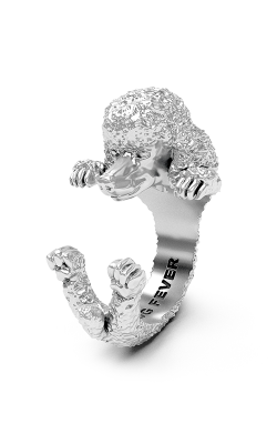 Dog Fever Hug Fashion Ring POODLE product image
