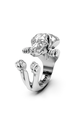 Dog Fever Hug Fashion Ring RHODESIAN RIDGEBACK product image