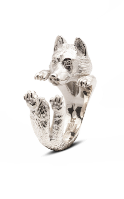 Dog Fever Hug Fashion Ring SIBERIAN HUSKY product image