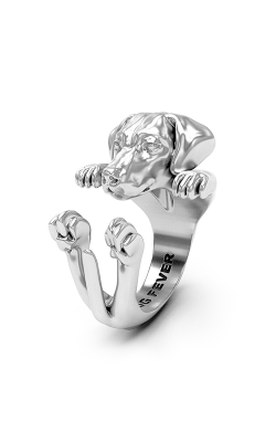 Dog Fever Hug Fashion ring WEIMARANER product image