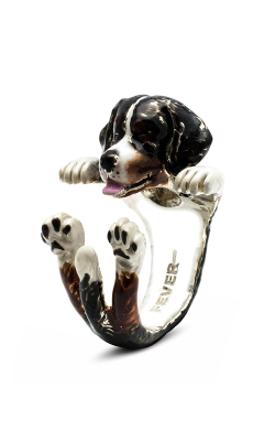 Dog Fever Enameled Hug Fashion Ring BERNESE MOUNTAIN DOG product image