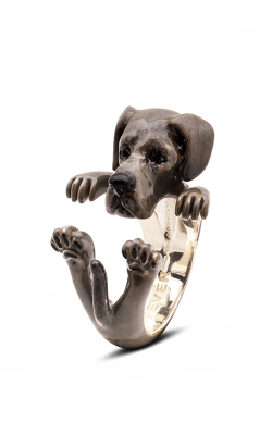 Dog Fever Enameled Hug Fashion ring GREAT DANE product image
