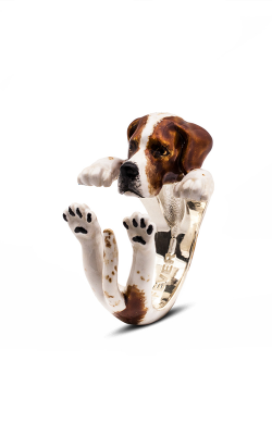 Dog Fever Enameled Hug Fashion ring POINTER product image