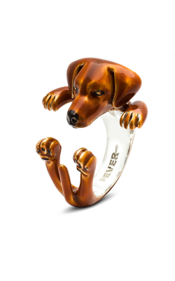 Dog Fever Enameled Hug Fashion ring RHODESIAN RIDGEBACK product image