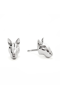 Dog Fever Head Earring BULL TERRIER product image
