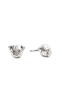 Dog Fever Head Earrings PUG product image