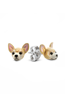 Dog Fever Enameled Head Earring CHIHUAHUA product image