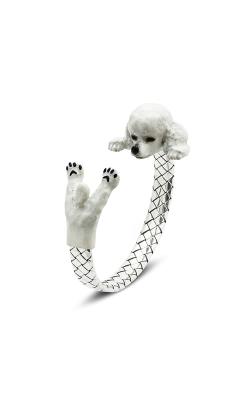 Dog Fever Enameled Hug Bracelet POODLE product image