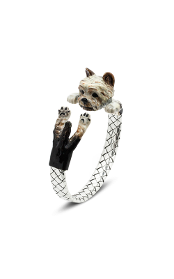 Dog Fever Enameled Hug Bracelet YORKSHIRE TERRIER product image