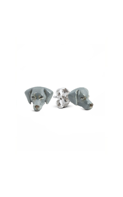 Dog Fever Enameled Head Earring WEIMARANER product image