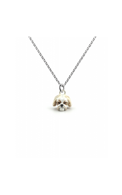 Dog Fever Enameled Head Necklace SHITZU product image