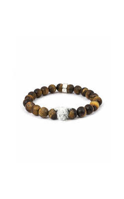 Dog Fever Tiger Eye Beads Bracelet PUG product image