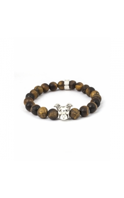 Dog Fever Tiger Eye Beads Bracelet AMERICAN STAFFORDSHIRE product image