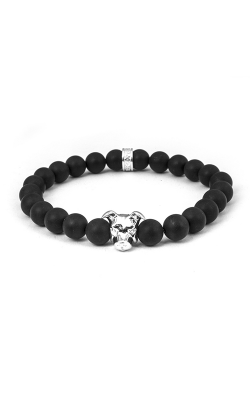 Dog Fever Onyx Bead Bracelet AMERICAN STAFFORDSHIRE product image