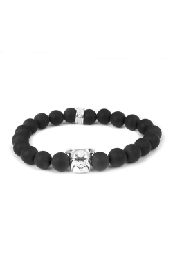 Dog Fever Onyx Bead Bracelet English Bulldog product image