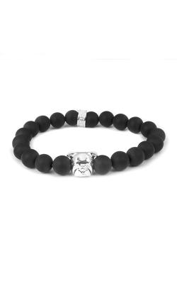 Dog Fever Onyx Bead Bracelet English Bulldog product image