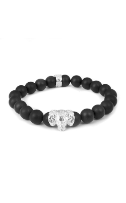 Dog Fever Onyx Bead Bracelet Cavalier King Charles Spaniel product image