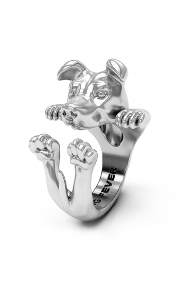 Dog Fever Hug Fashion ring AMERICAN STAFFORDSHIRE product image