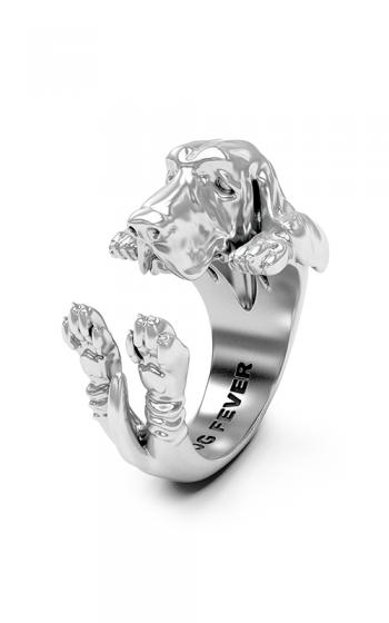 Dog Fever Hug Fashion ring BASSET HOUND product image