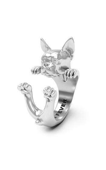 Dog Fever Hug Fashion ring BOSTON TERRIER product image