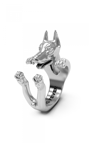 Dog Fever Hug Fashion ring DOBERMANN product image