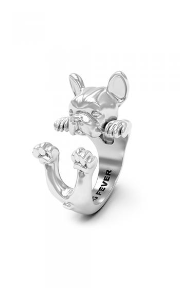 Dog Fever Hug Fashion ring FRENCH BULLDOG product image