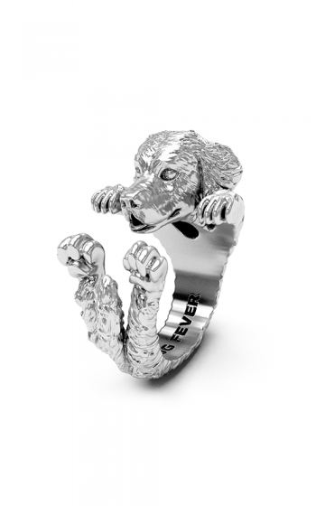 Dog Fever Hug Fashion ring GOLDEN RETRIEVER product image