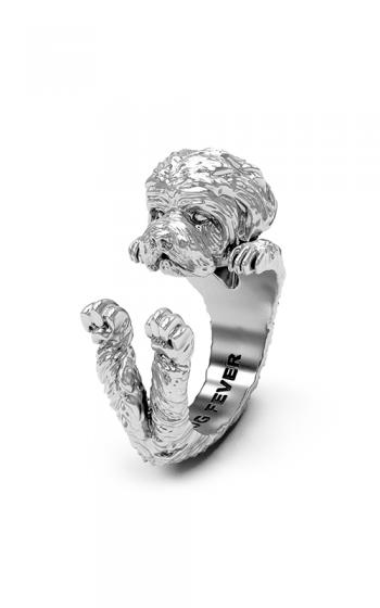 Dog Fever Hug Fashion ring MALTESE product image