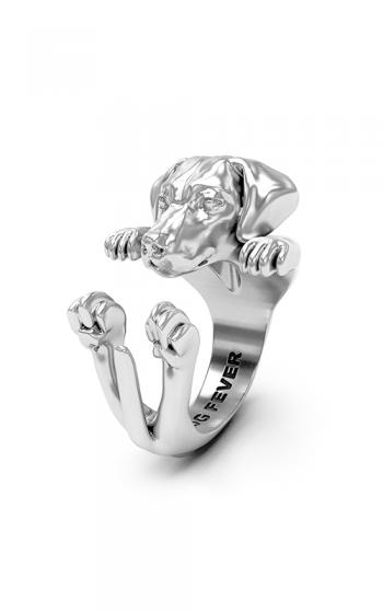 Dog Fever Hug Fashion ring WEIMARANER product image
