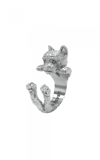 Dog Fever Hug Fashion ring YORKSHIRE TERRIER product image