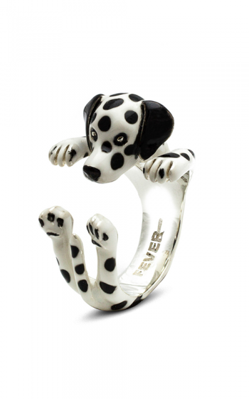 Dog Fever Enameled Hug Fashion ring DALMATIAN product image