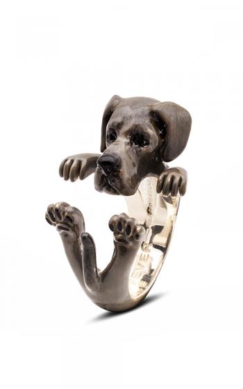 Dog Fever Enameled Hug Fashion ring GREAT DANE product image