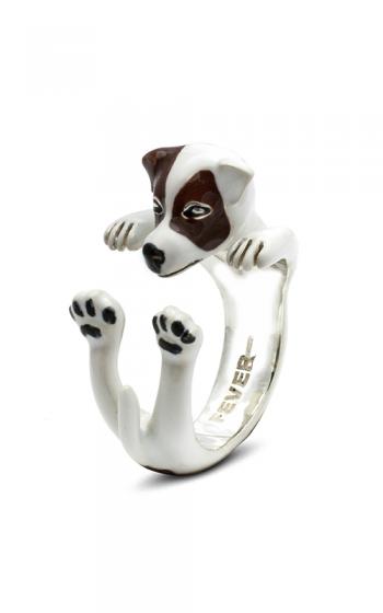 Dog Fever Enameled Hug Fashion ring JACK RUSSEL TERRIER product image