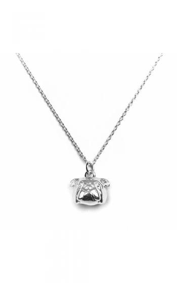 Dog Fever Head Necklace ENGLISH BULLDOG product image