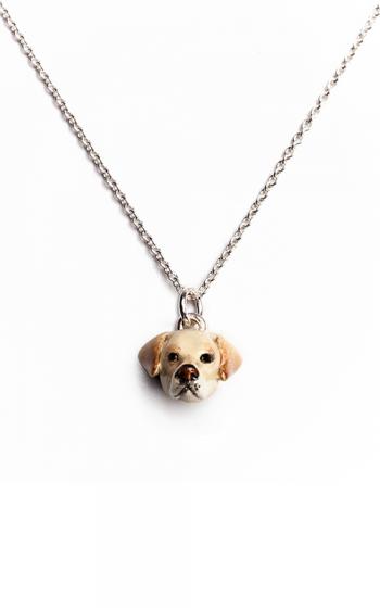 Dog Fever Enameled Head Necklace LABRADOR RETRIEVER product image