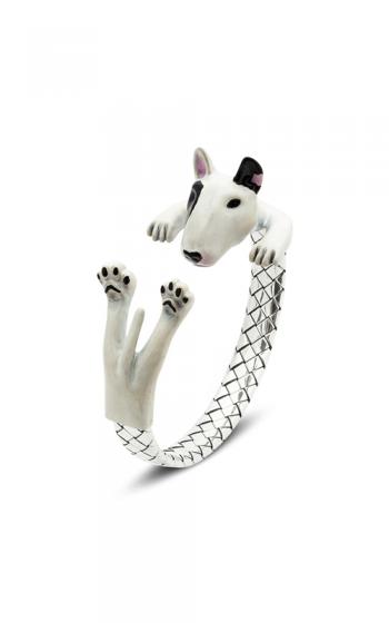 Dog Fever Enameled Hug Bracelet BULL TERRIER product image