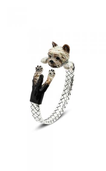 Dog Fever Enameled Hug Bracelet YORKSHIRE TERRIER product image