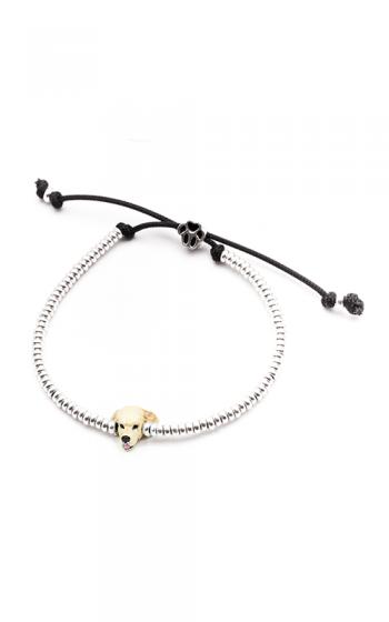Dog Fever Enameled Head Bracelet GOLDEN RETRIEVER product image
