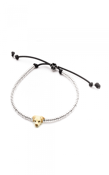 Dog Fever Enameled Head Bracelet LABRADOR RETRIEVER product image