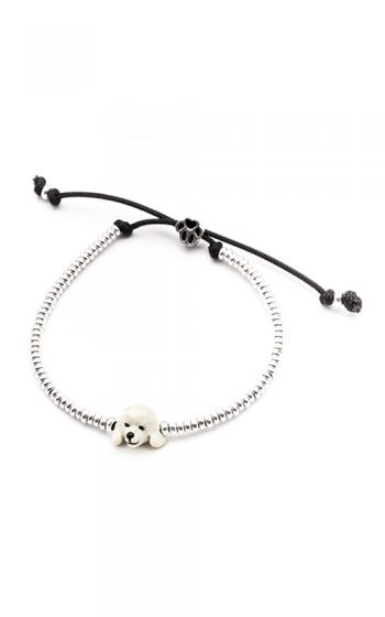 Dog Fever Enameled Head Bracelet POODLE product image