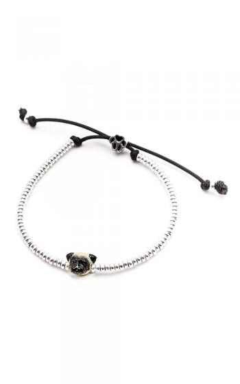Dog Fever Enameled Head Bracelet PUG product image