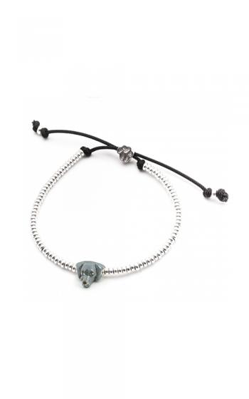 Dog Fever Enameled Head Bracelet WEIMARANER product image