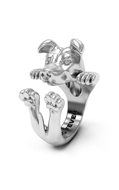 Dog Fever Hug Fashion ring AMERICAN STAFFORDSHIRE product image
