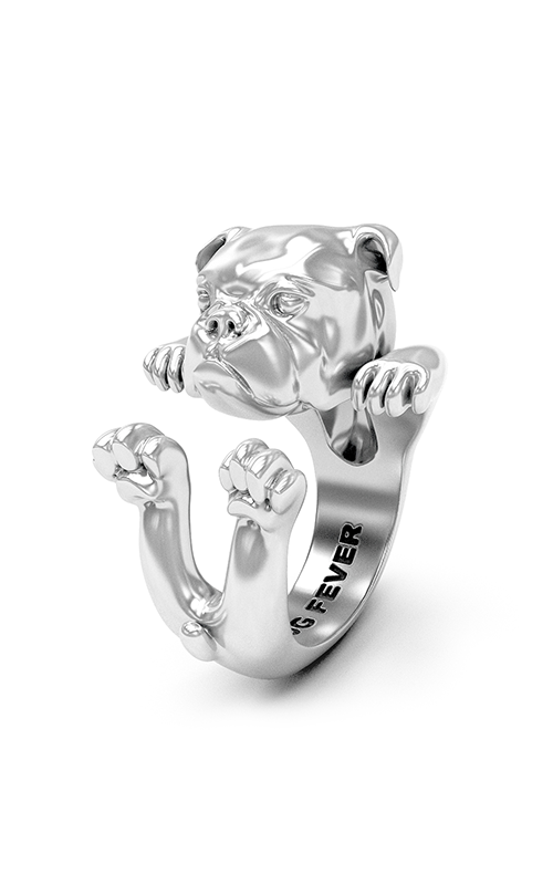Dog Fever Hug Fashion ring ENGLISH BULLDOG product image